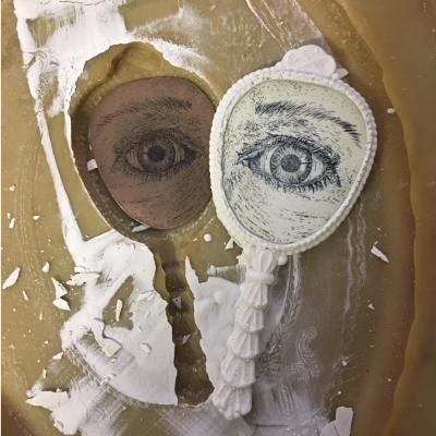 Eye portrait by Rebecca Gilbert