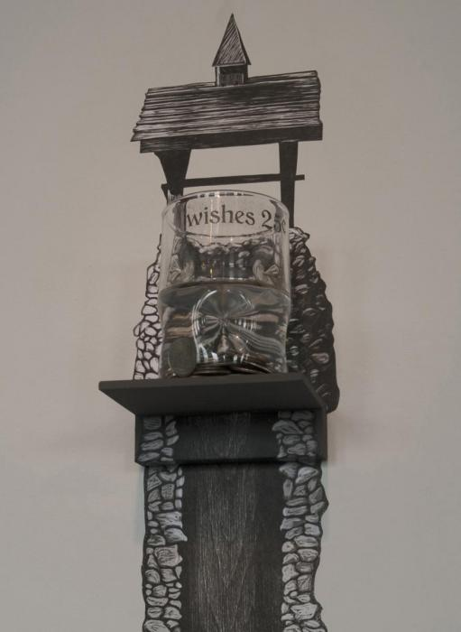 WIshing Well: artwork by Rebecca Gilbert