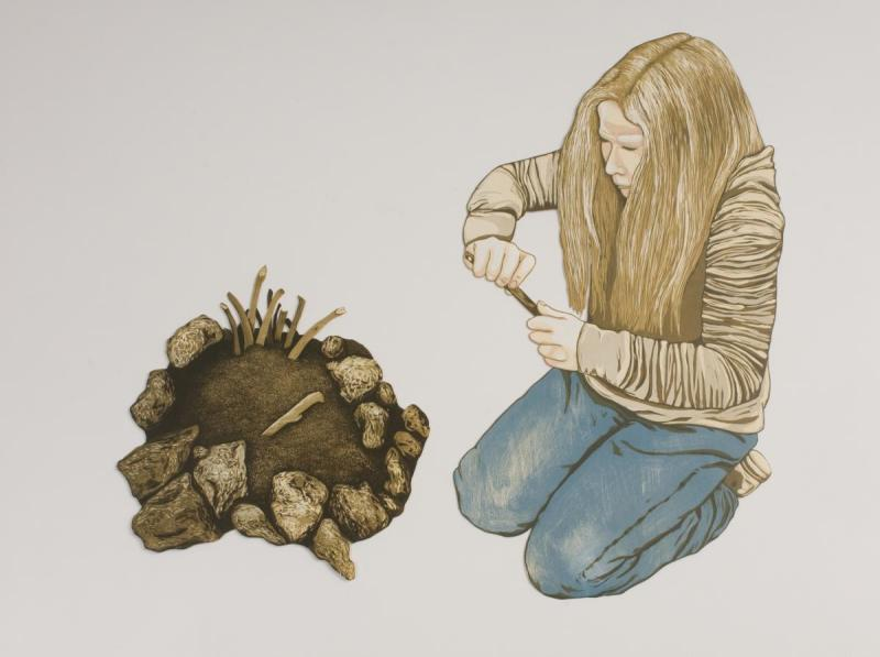 Building the Perfect Worm House: artwork by Rebecca Gilbert