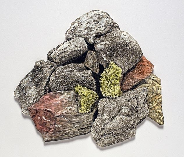 Rock Pile: artwork by Rebecca Gilbert