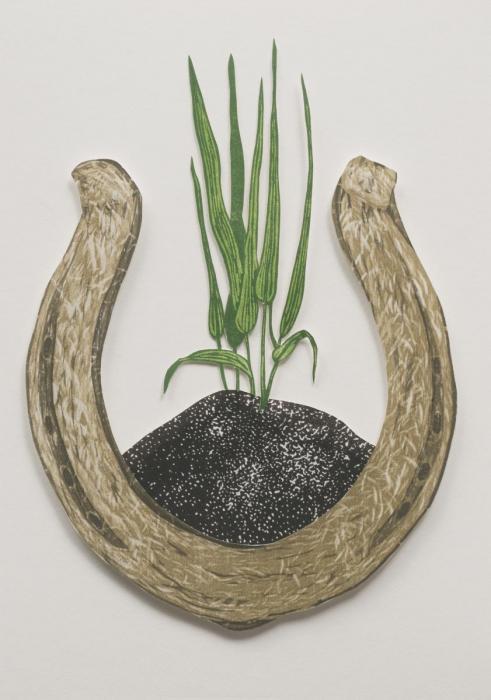 Grass Luck: artwork by Rebecca Gilbert