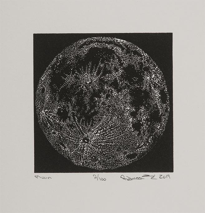 Moon Rebecca Gilbert