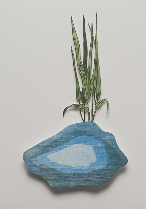 Water Nugget I: artwork by Rebecca Gilbert