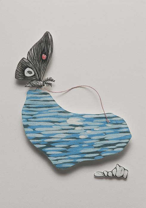 Water Nugget II: artwork by Rebecca Gilbert